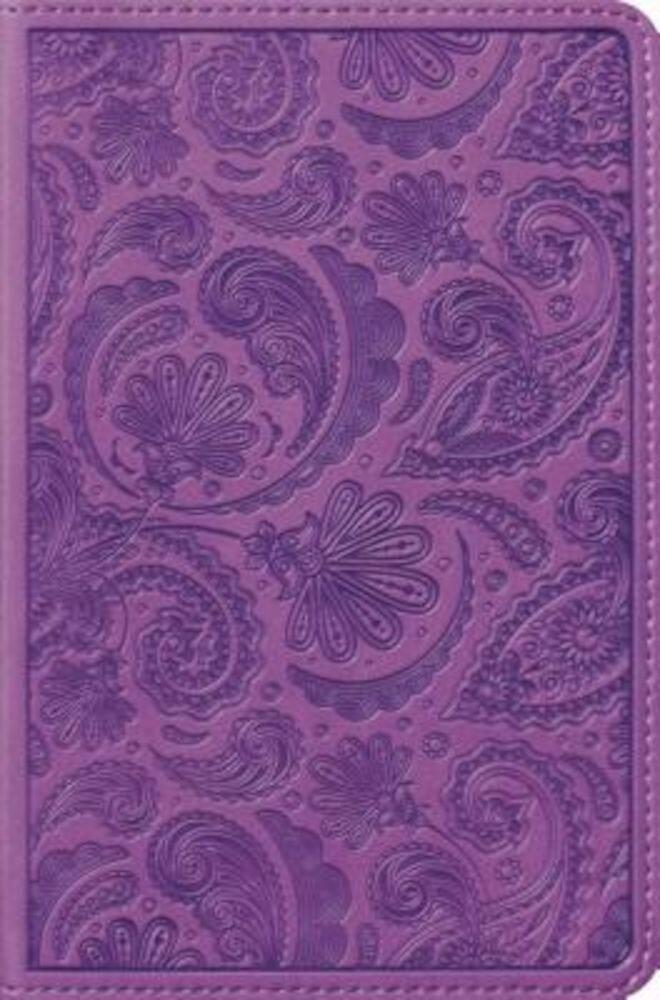 Compact Bible-ESV-Paisley Design, Hardcover