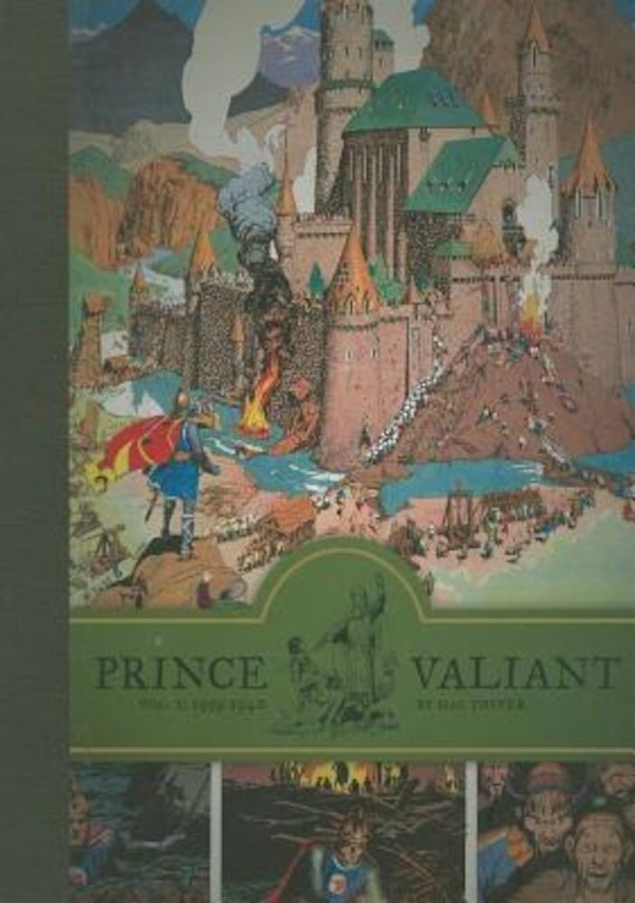 Prince Valiant, Volume 2: 1939-1940, Hardcover