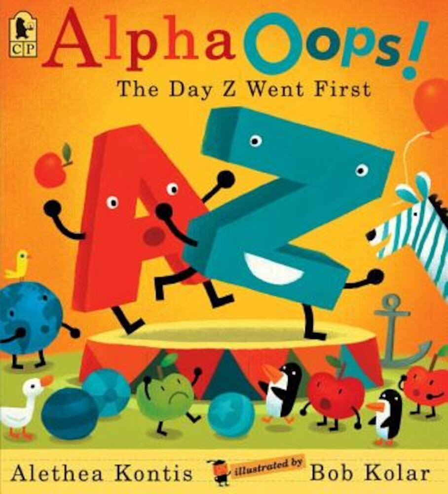 Alphaoops!: The Day Z Went First, Paperback
