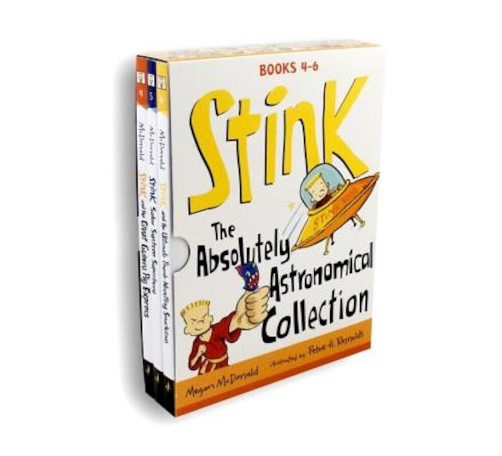 Stink: The Absolutely Astronomical Collection: Books 4-6, Paperback