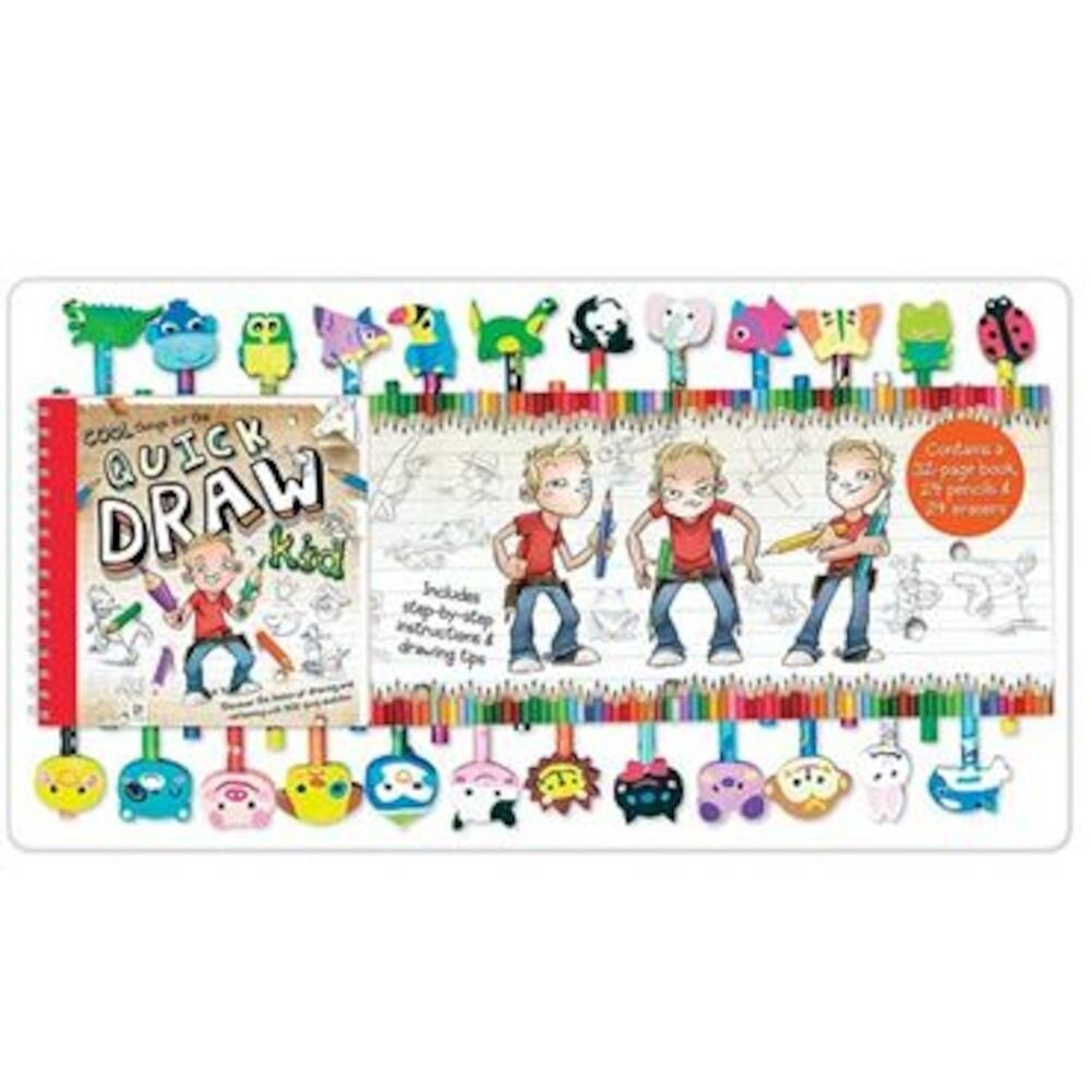 Quick Draw Kid 20 Pencil Eraser S