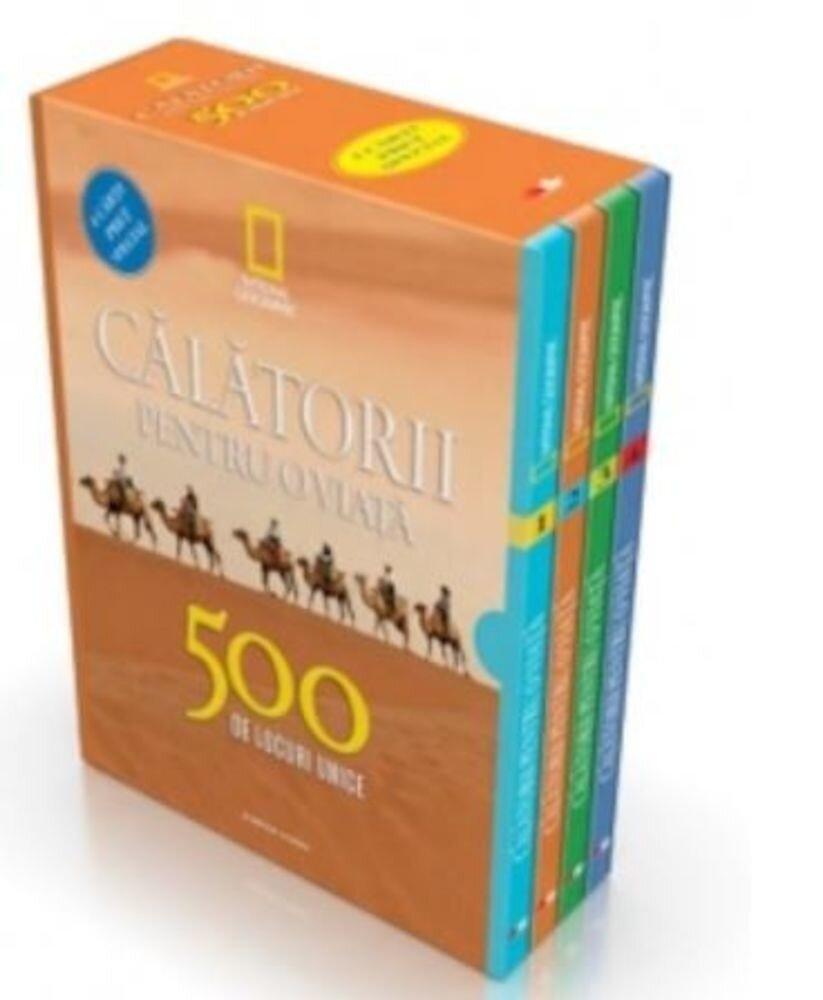 Set calatorii pentru o viata. 500 de locuri unice (4 volume)