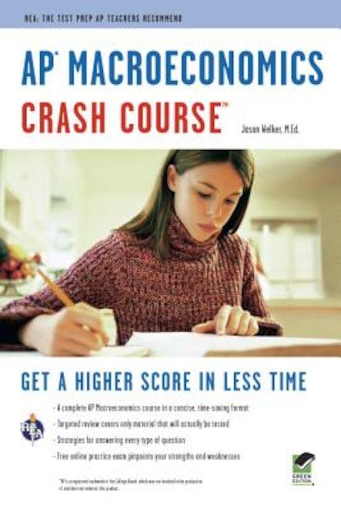 AP Macroeconomics Crash Course, Paperback