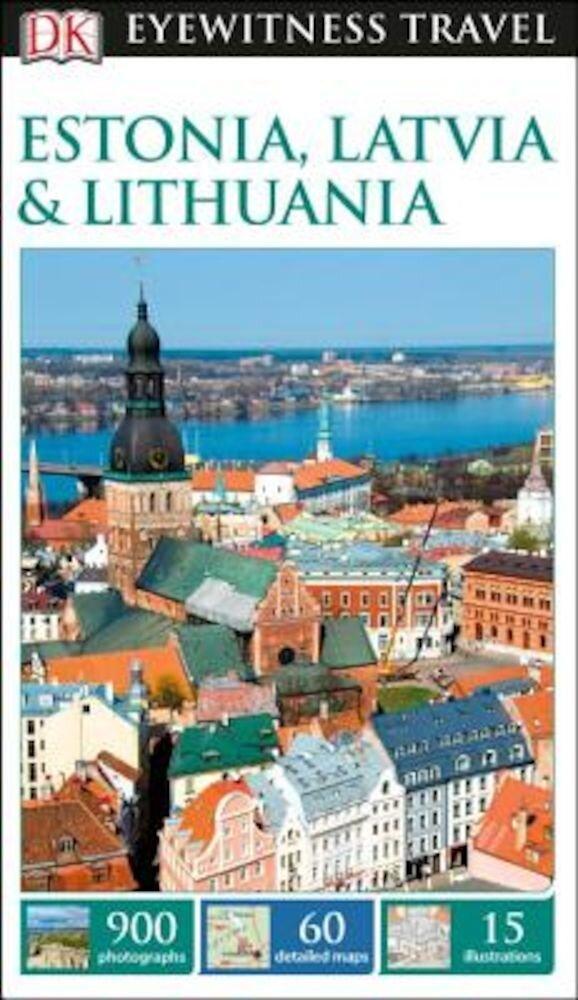 DK Eyewitness Travel Guide Estonia, Latvia & Lithuania, Paperback