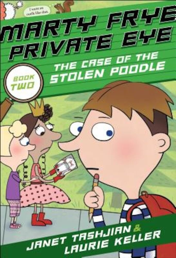 Marty Frye, Private Eye: The Case of the Stolen Poodle, Hardcover