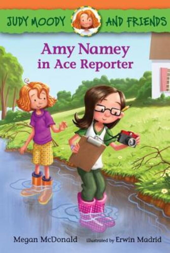 Amy Namey in Ace Reporter, Hardcover