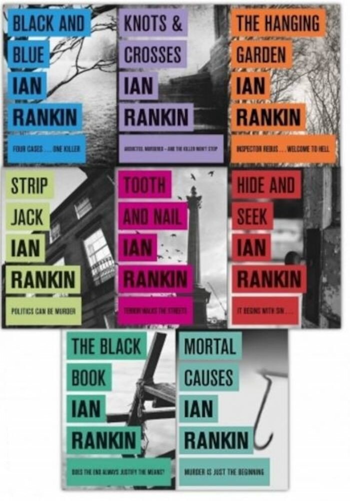 Ian Rankin Inspector Rebus Collection 8 Books Set