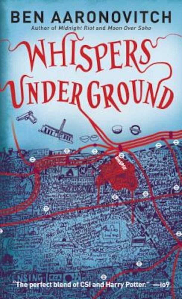 Whispers Under Ground, Paperback
