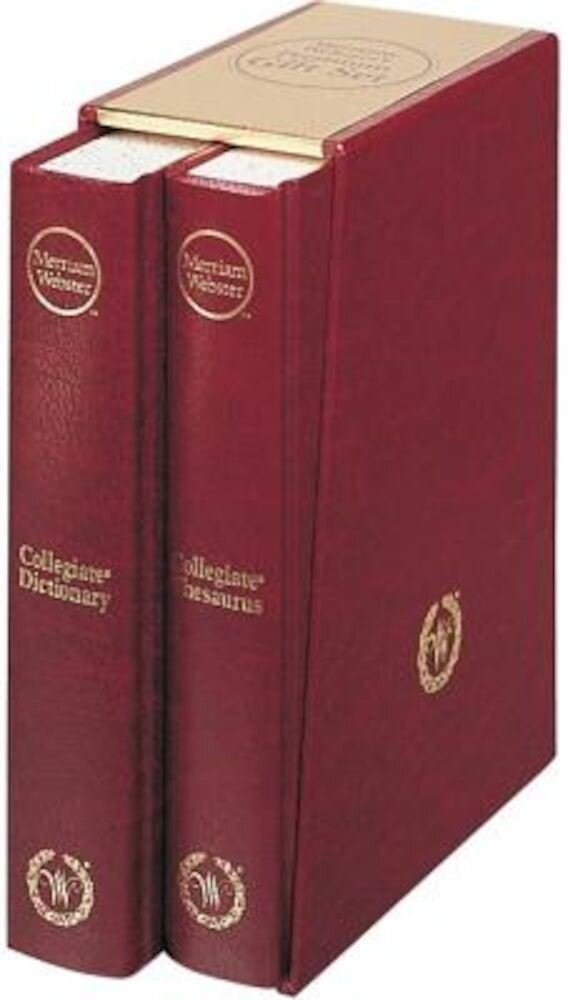 Merriam-Webster's Premium Gift Set, Hardcover