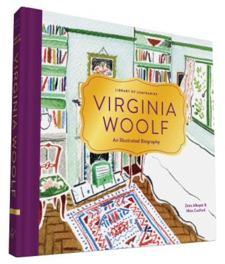 Library of Luminaries: Virginia Woolf: An Illustrated Biography, Hardcover