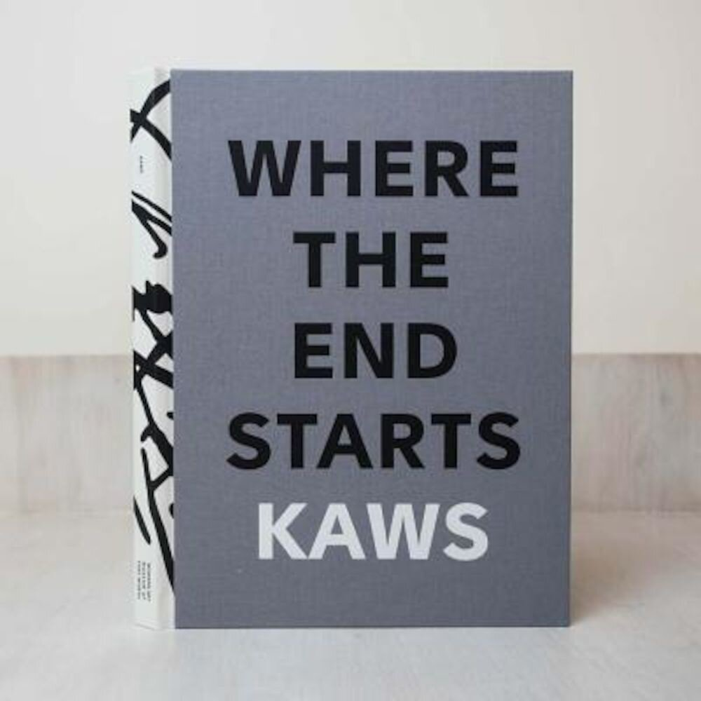 Kaws: Where the End Starts, Hardcover