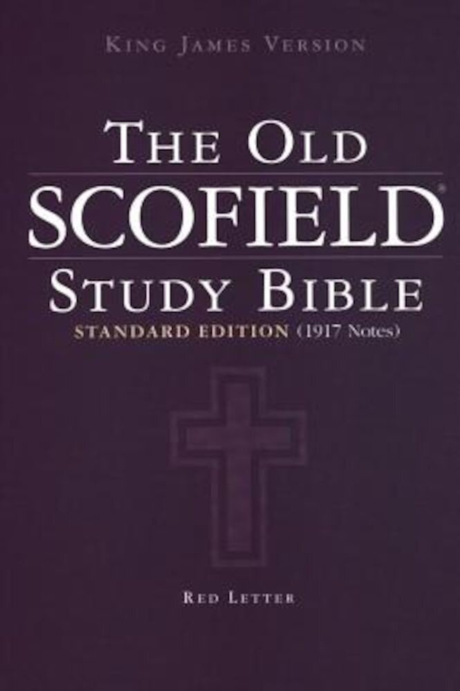 Old Scofield Study Bible-KJV-Standard, Hardcover
