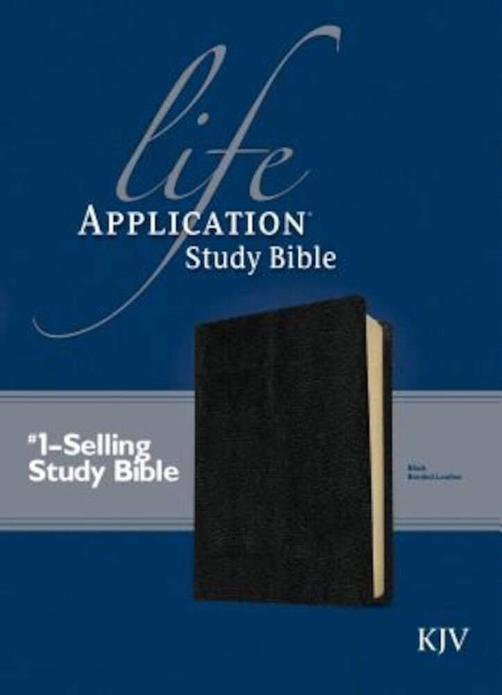 Life Application Study Bible-KJV, Hardcover