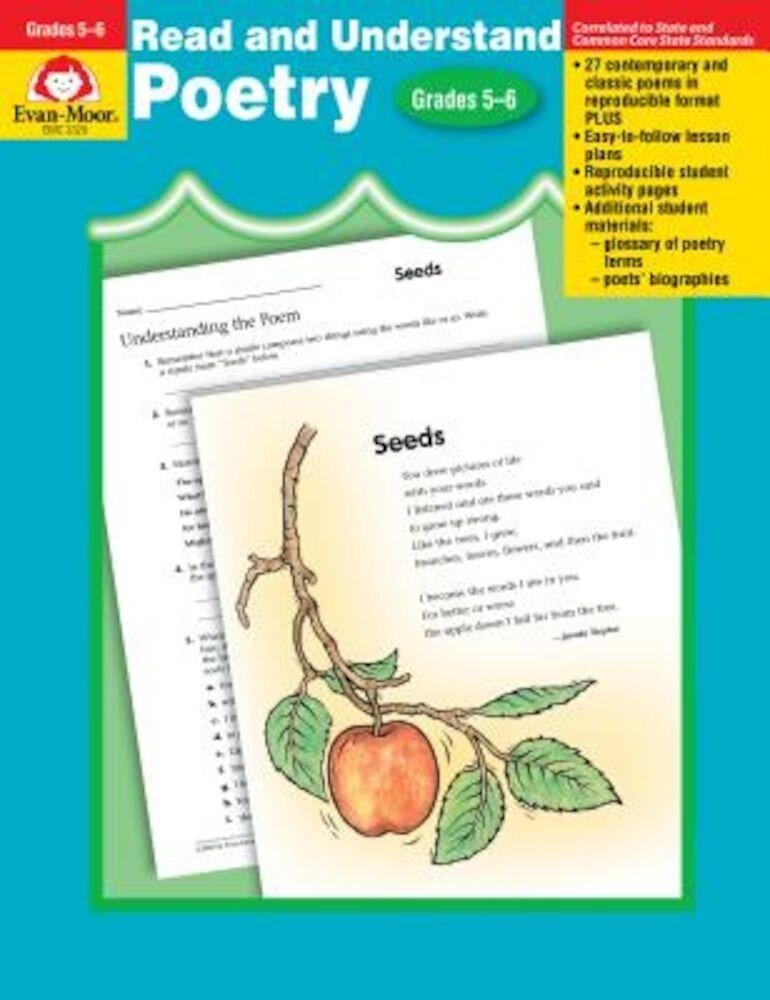 Poetry, Grades 5-6, Paperback