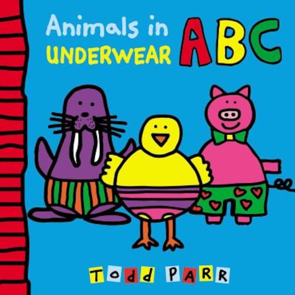 Animals in Underwear ABC, Hardcover