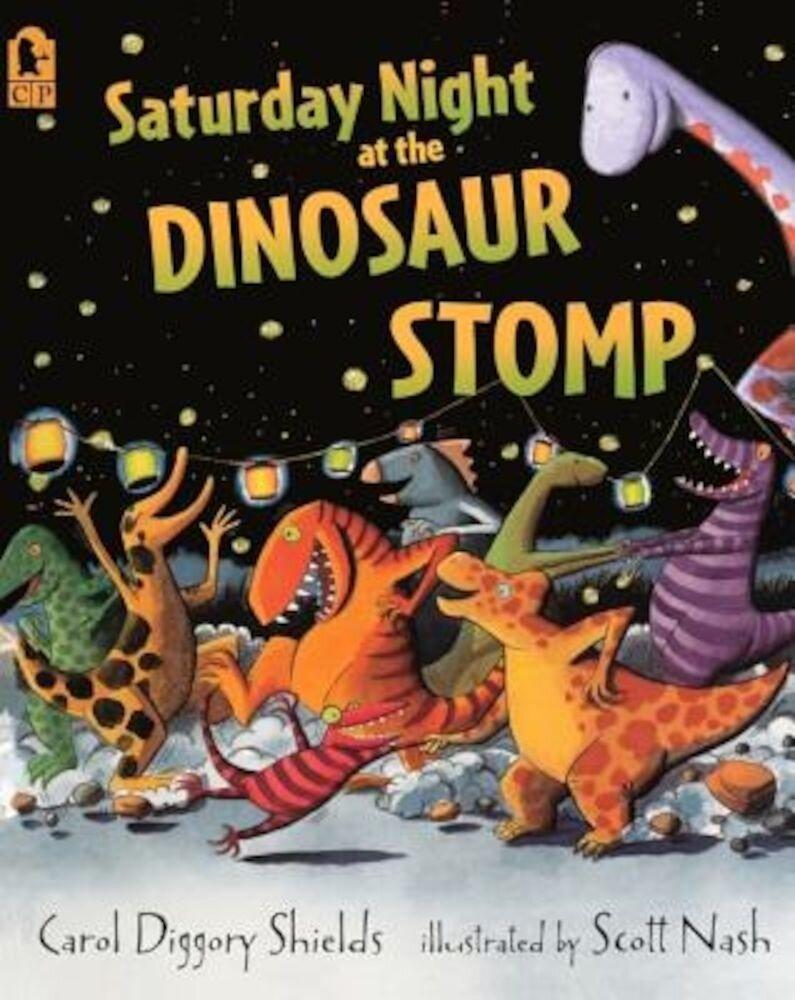 Saturday Night at the Dinosaur Stomp, Hardcover