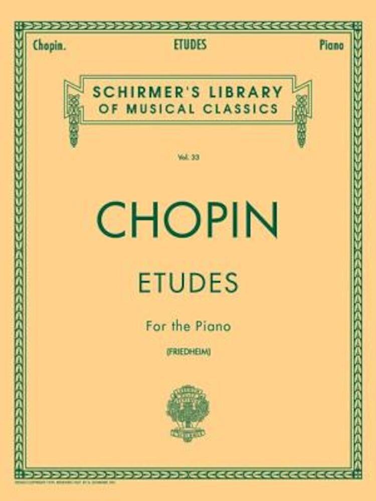 Etudes (Friedheim): Piano Solo, Paperback