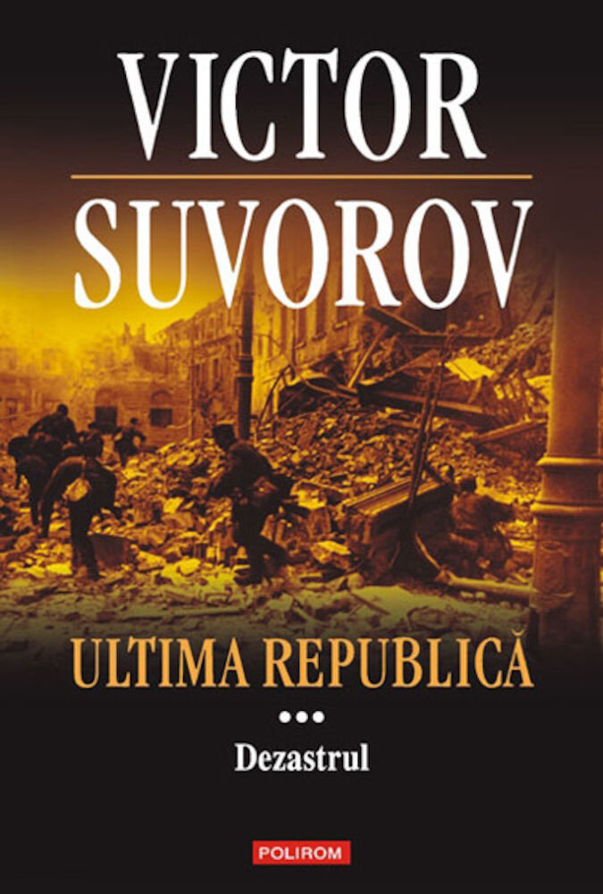 Coperta Carte Ultima republica. Dezastrul, Vol. 3