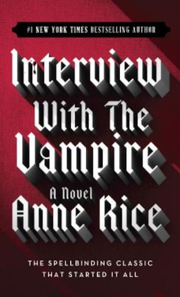 Interview with the Vampire, Paperback