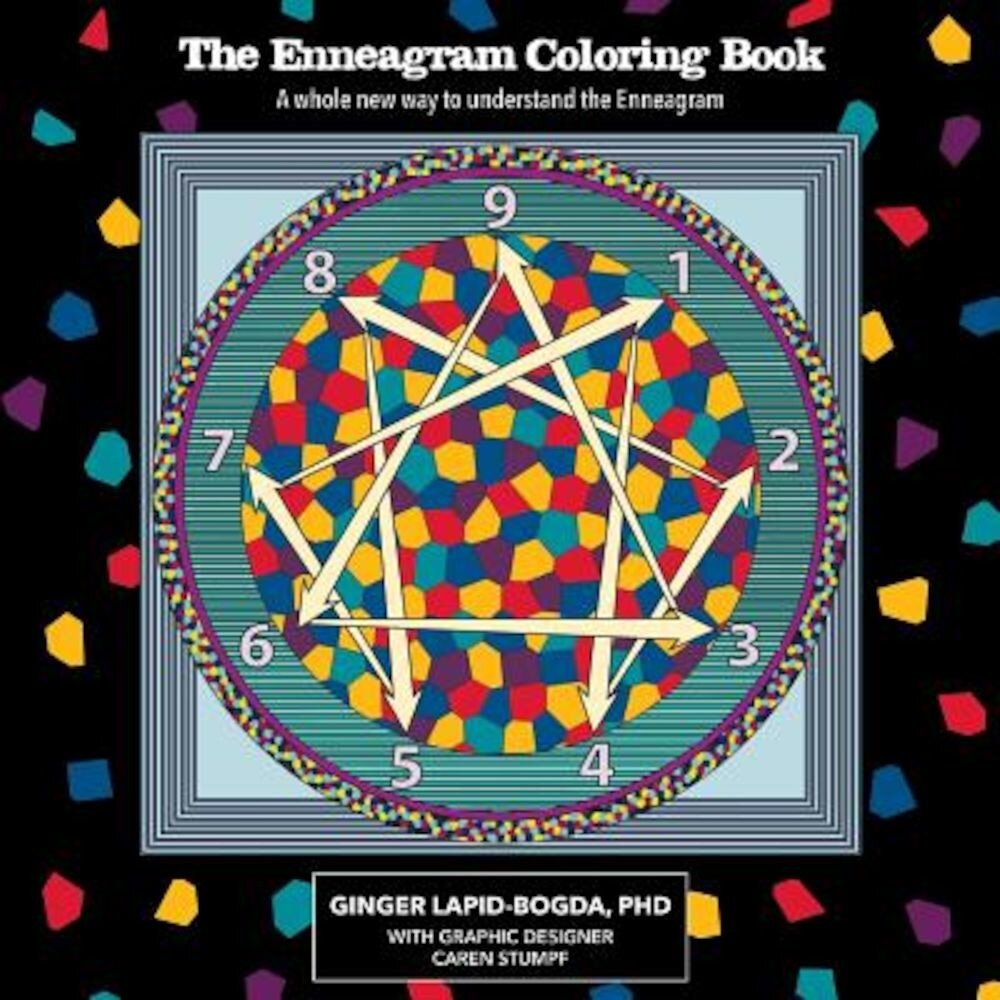 The Enneagram Coloring Book, Paperback