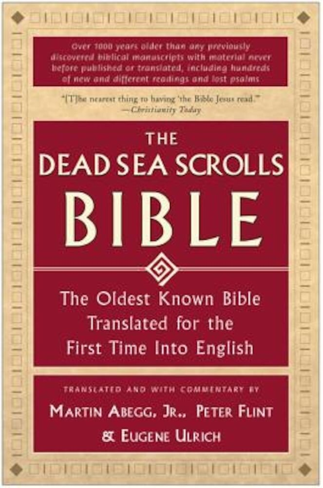 The Dead Sea Scrolls Bible, Paperback