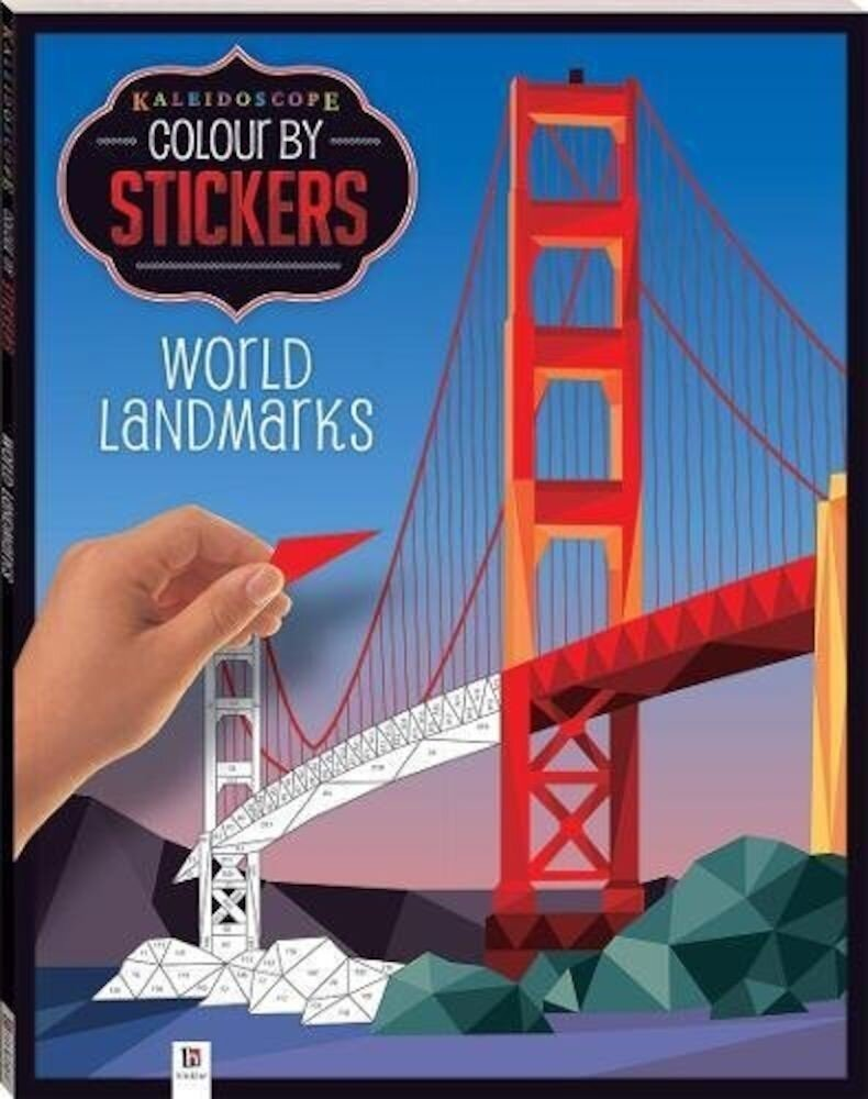 Kaleidoscope Colour by Stickers: World Landmarks
