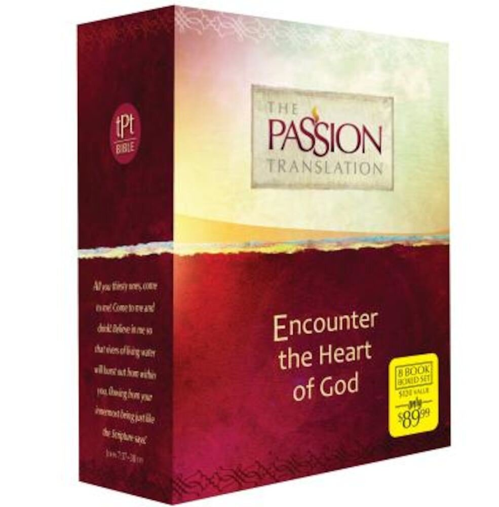 Encounter the Heart of God-OE: Passion Translation, Paperback