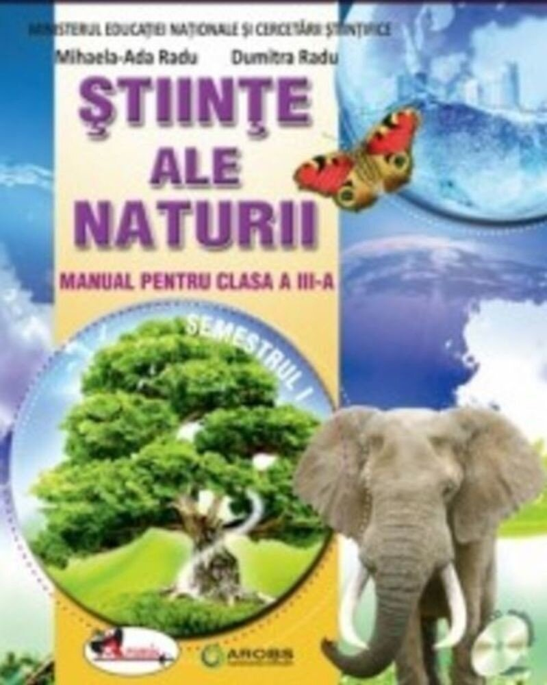 Stiinte ale naturii - manual pentru clasa a III-a, sem. I+II