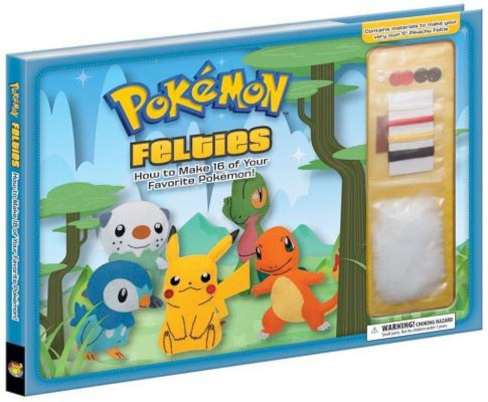 Pokemon Felties: How to Make 16 of Your Favorite Pokemon, Hardcover