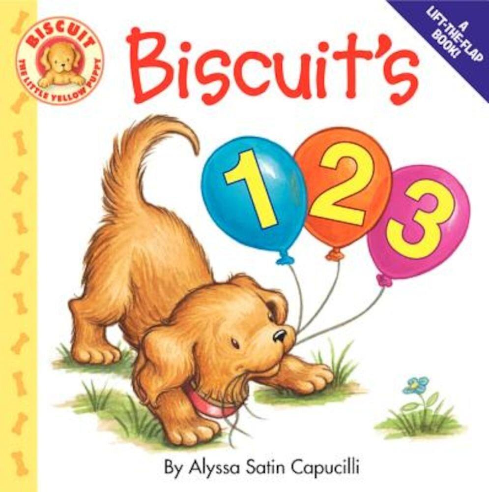 Biscuit's 123, Hardcover