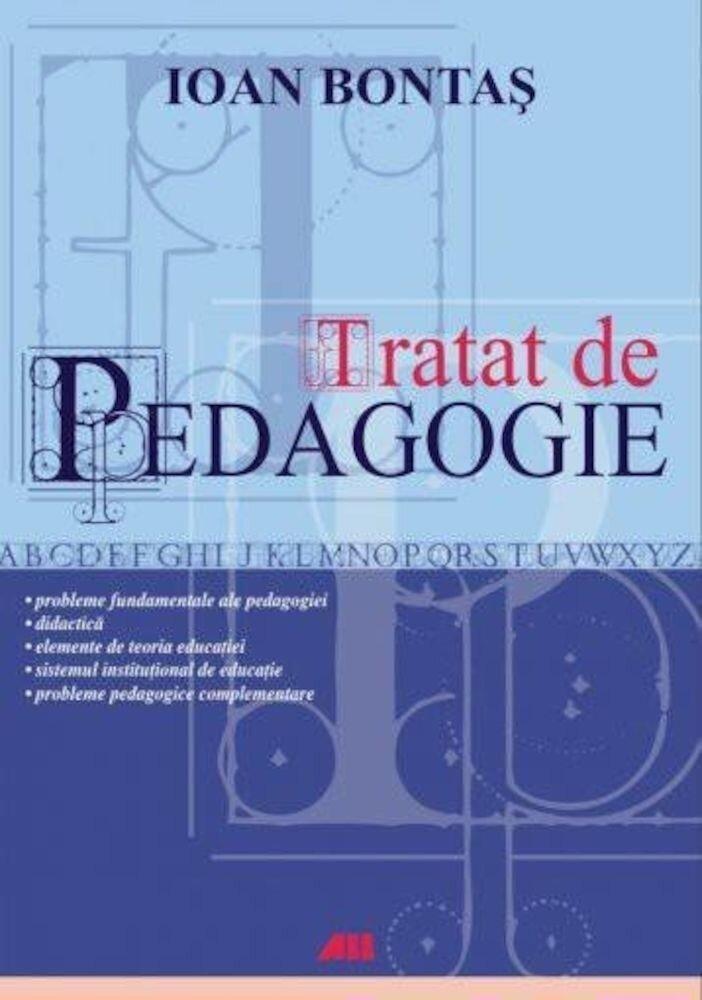 Coperta Carte Tratat de pedagogie. Editia a II-a
