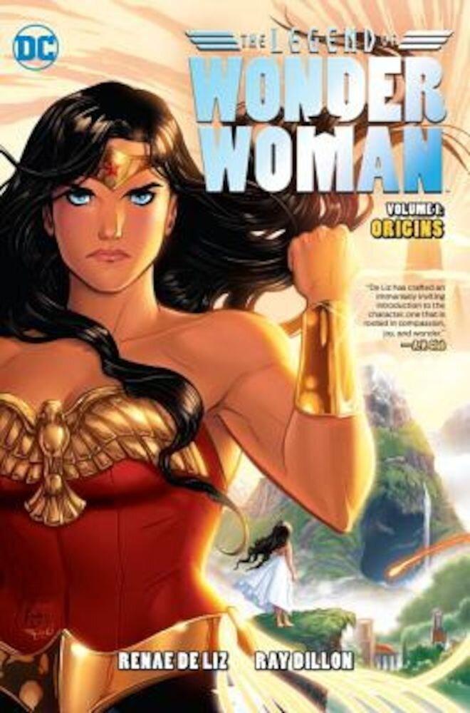 The Legend of Wonder Woman Vol. 1: Origins, Hardcover