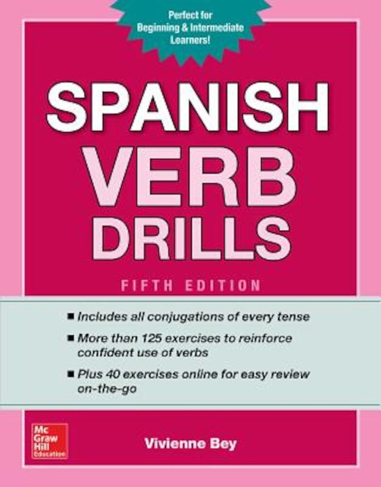 Spanish Verb Drills, Fifth Edition, Paperback