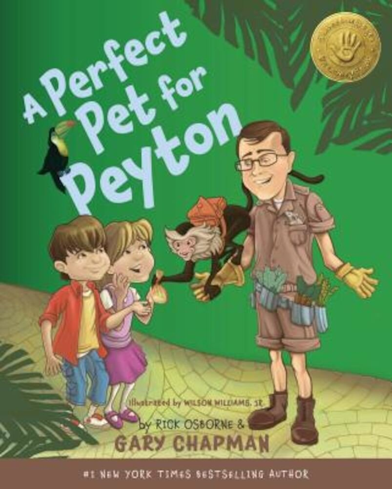 A Perfect Pet for Peyton: 5 Love Languages Discovery Book, Hardcover
