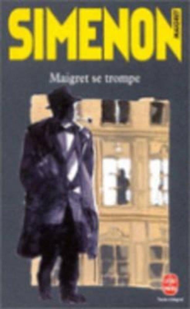 Maigret Se Trompe, Paperback