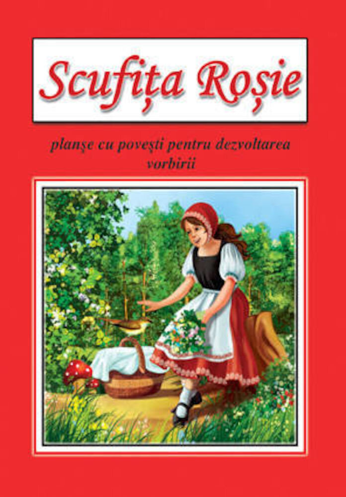 Scufita rosie - planse educative