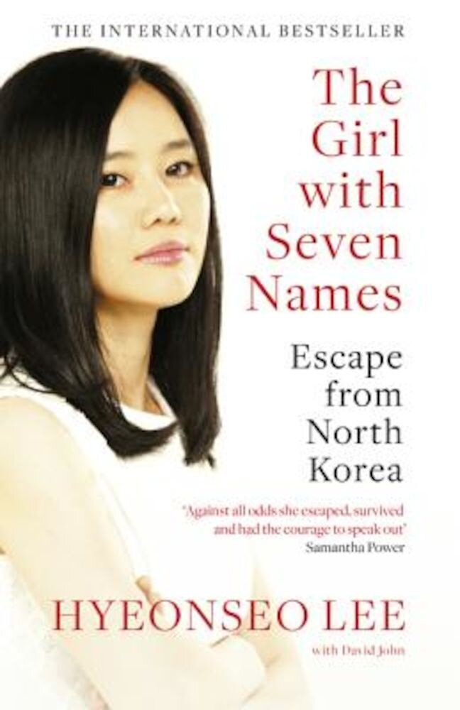 The Girl with Seven Names, Paperback