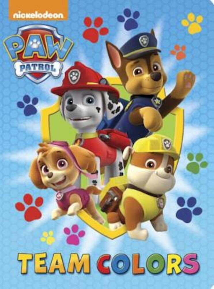 Team Colors (Paw Patrol), Hardcover