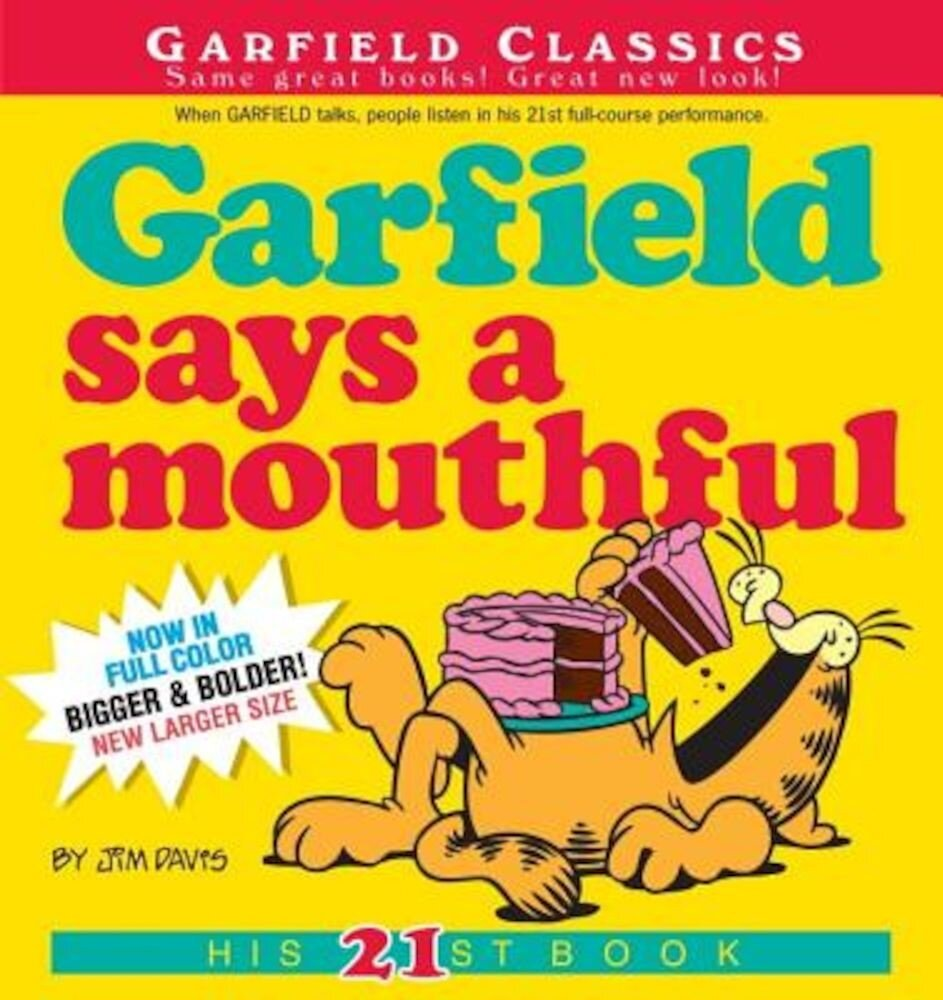 Garfield Says a Mouthful, Paperback