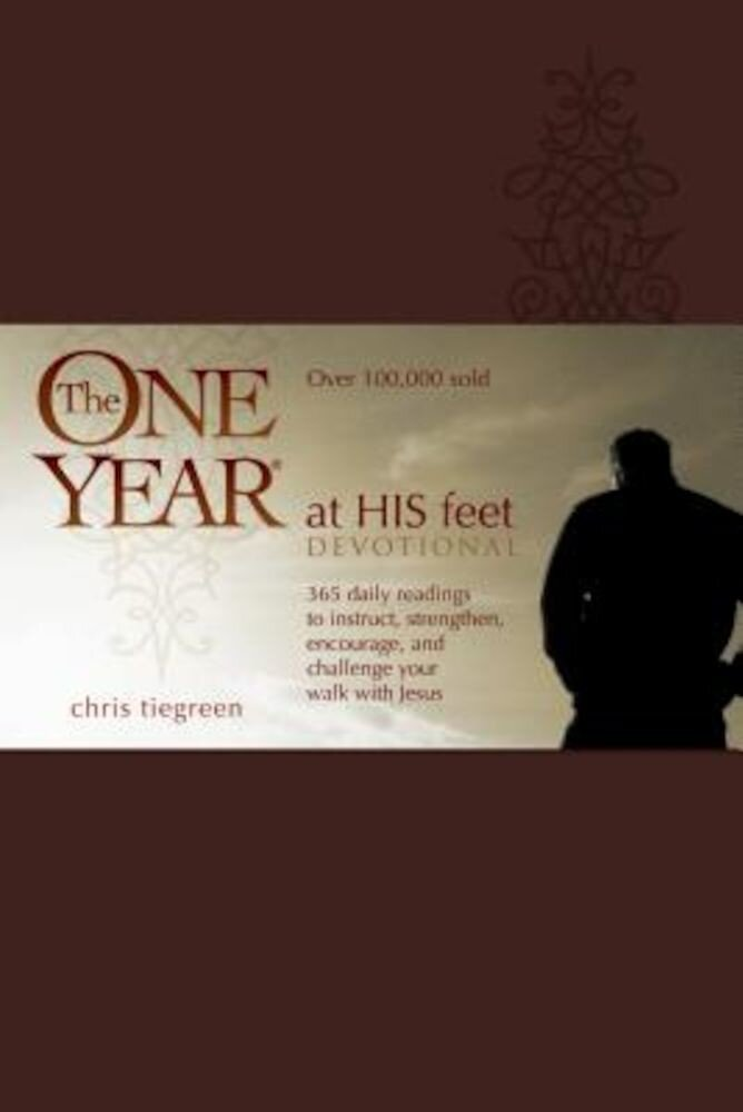 The One Year at His Feet Devotional, Hardcover