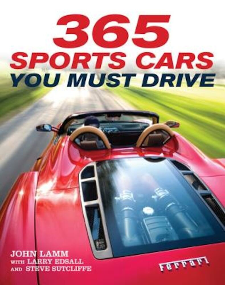365 Sports Cars You Must Drive, Paperback