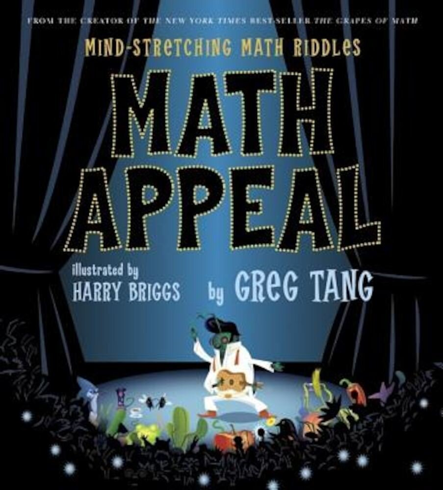 Math Appeal: Mind-Stretching Math Riddles, Hardcover
