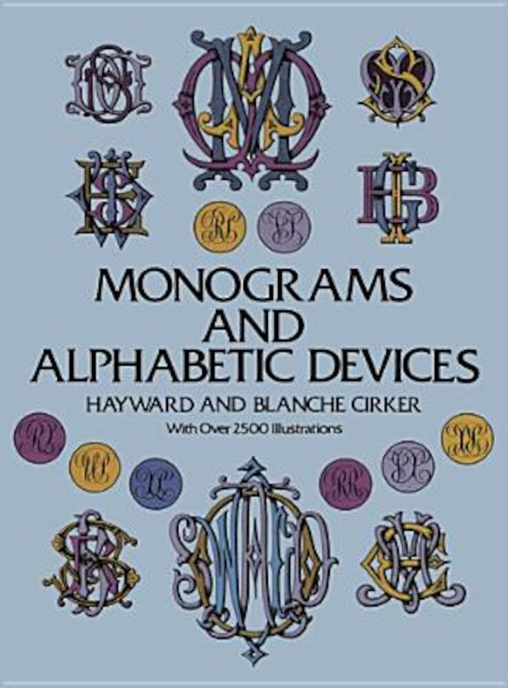 Monograms and Alphabetic Devices, Paperback