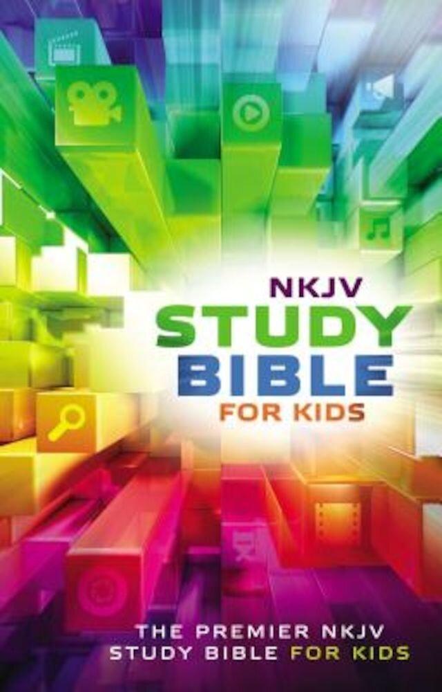 Study Bible for Kids-NKJV: The Premiere NKJV Study Bible for Kids, Hardcover