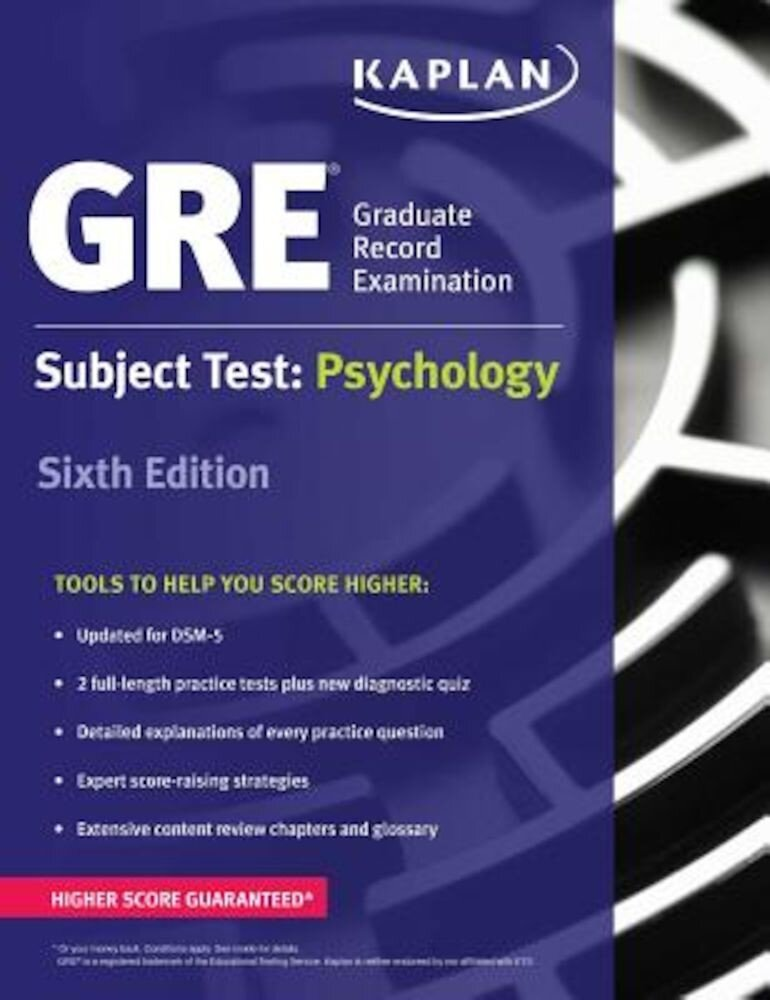 GRE Subject Test: Psychology, Paperback