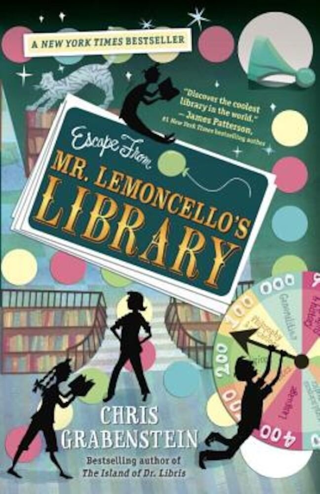 Escape from Mr. Lemoncello's Library, Hardcover