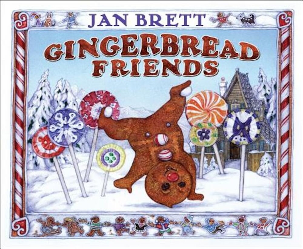 Gingerbread Friends, Hardcover