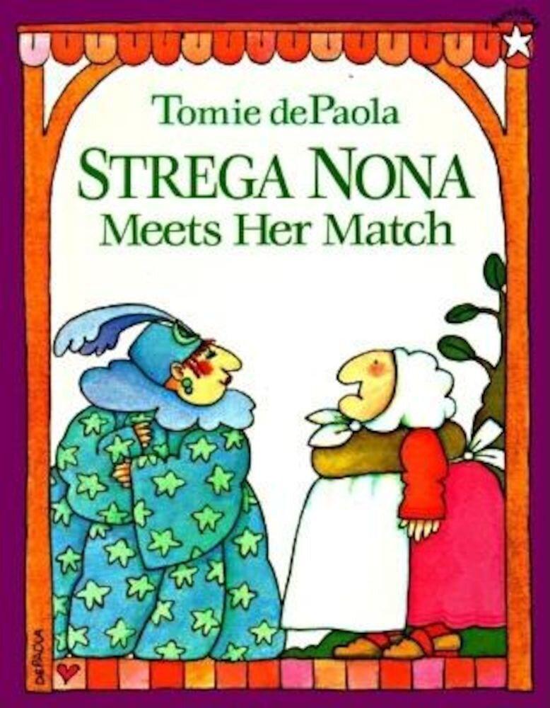Strega Nona Meets Her Match, Paperback