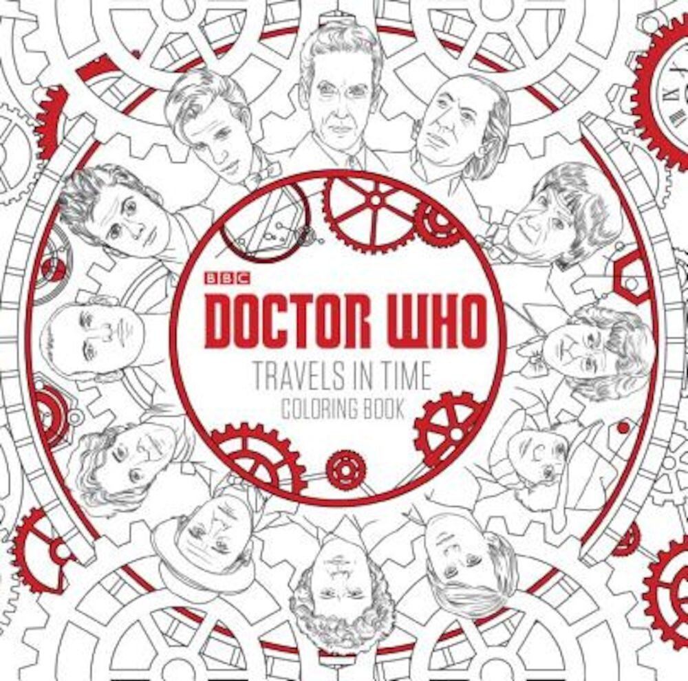 Doctor Who Travels in Time Coloring Book, Paperback