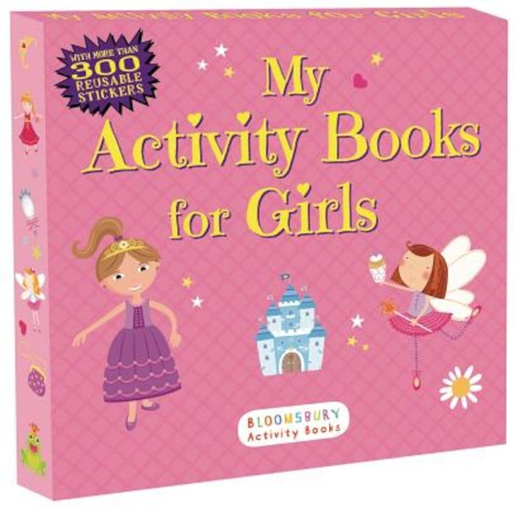 My Activity Books for Girls, Paperback